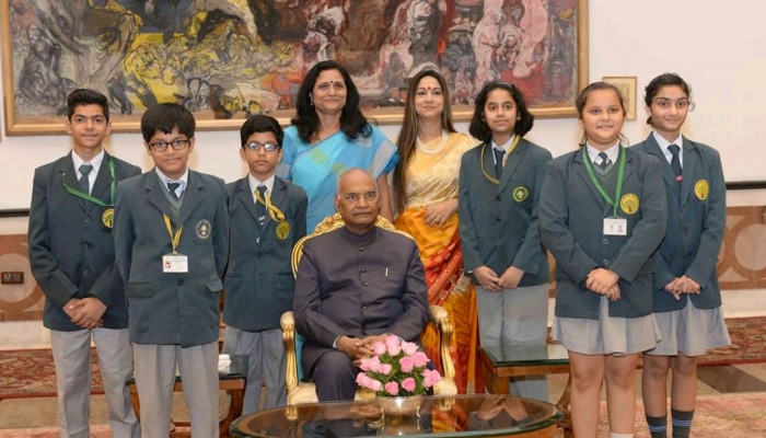 Visit  To Rashtrapati Bhawan On 14 November 2018